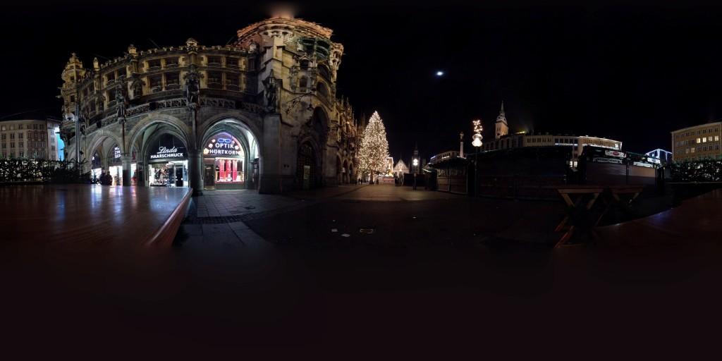 Christmasmarket at Marienplatz, Munich, Germany
