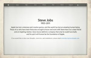 Steve Jobs *1955- ✝2011