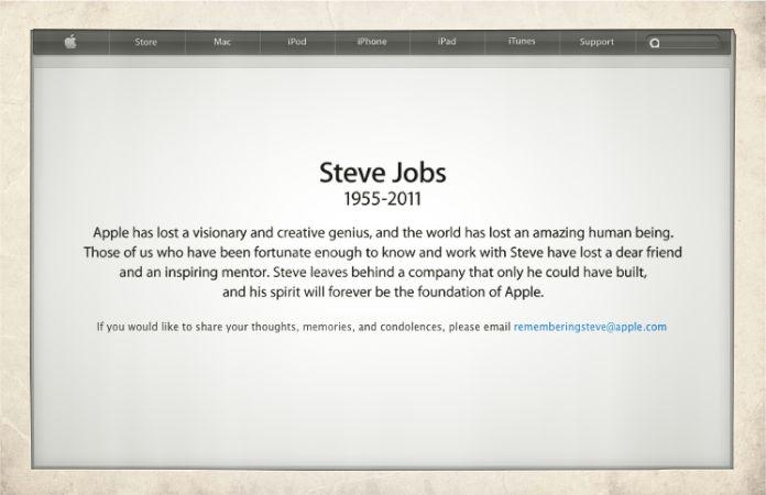 Steve Jobs *1955 – ✝2011