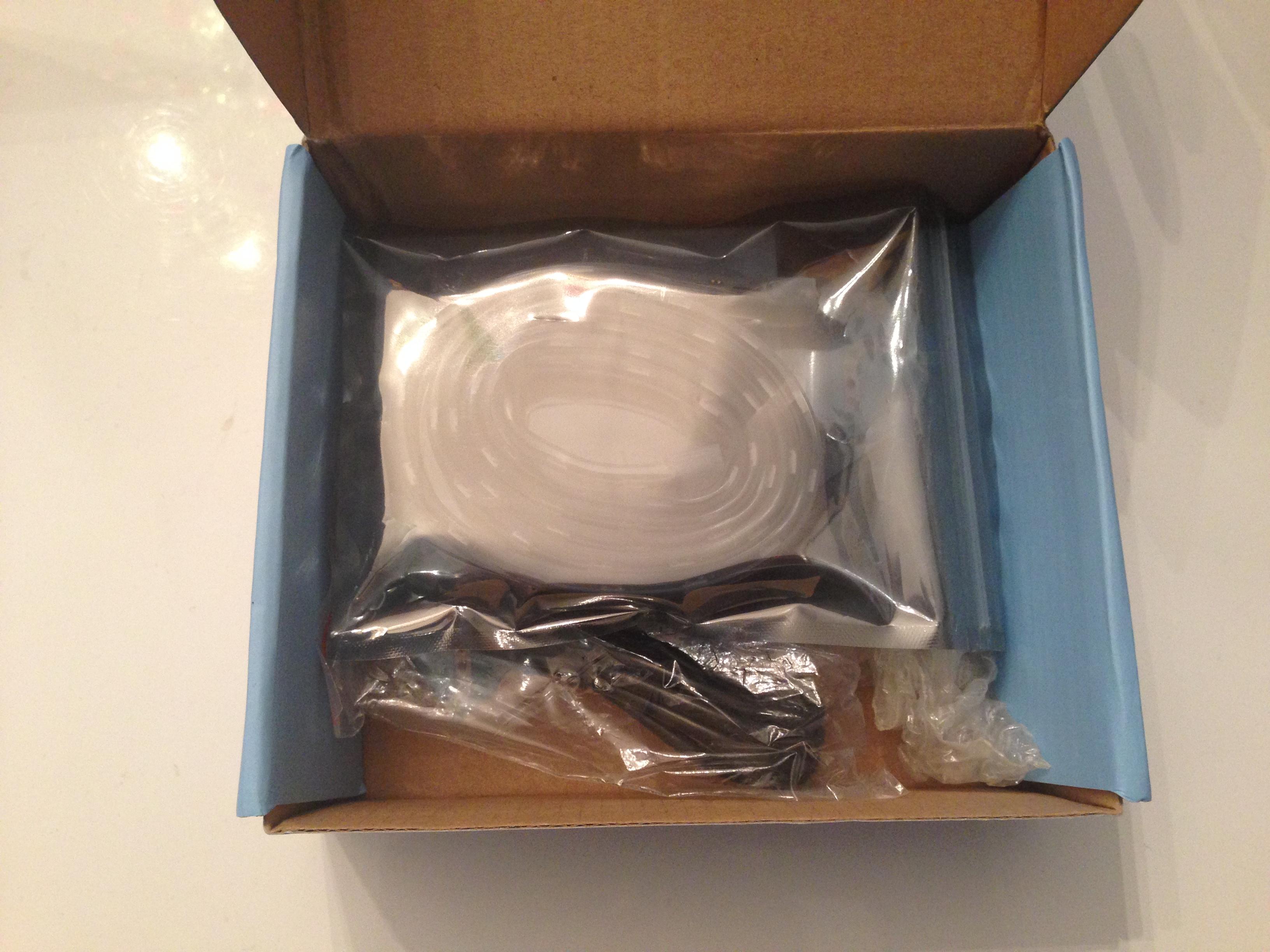 BlinkyTape box opened