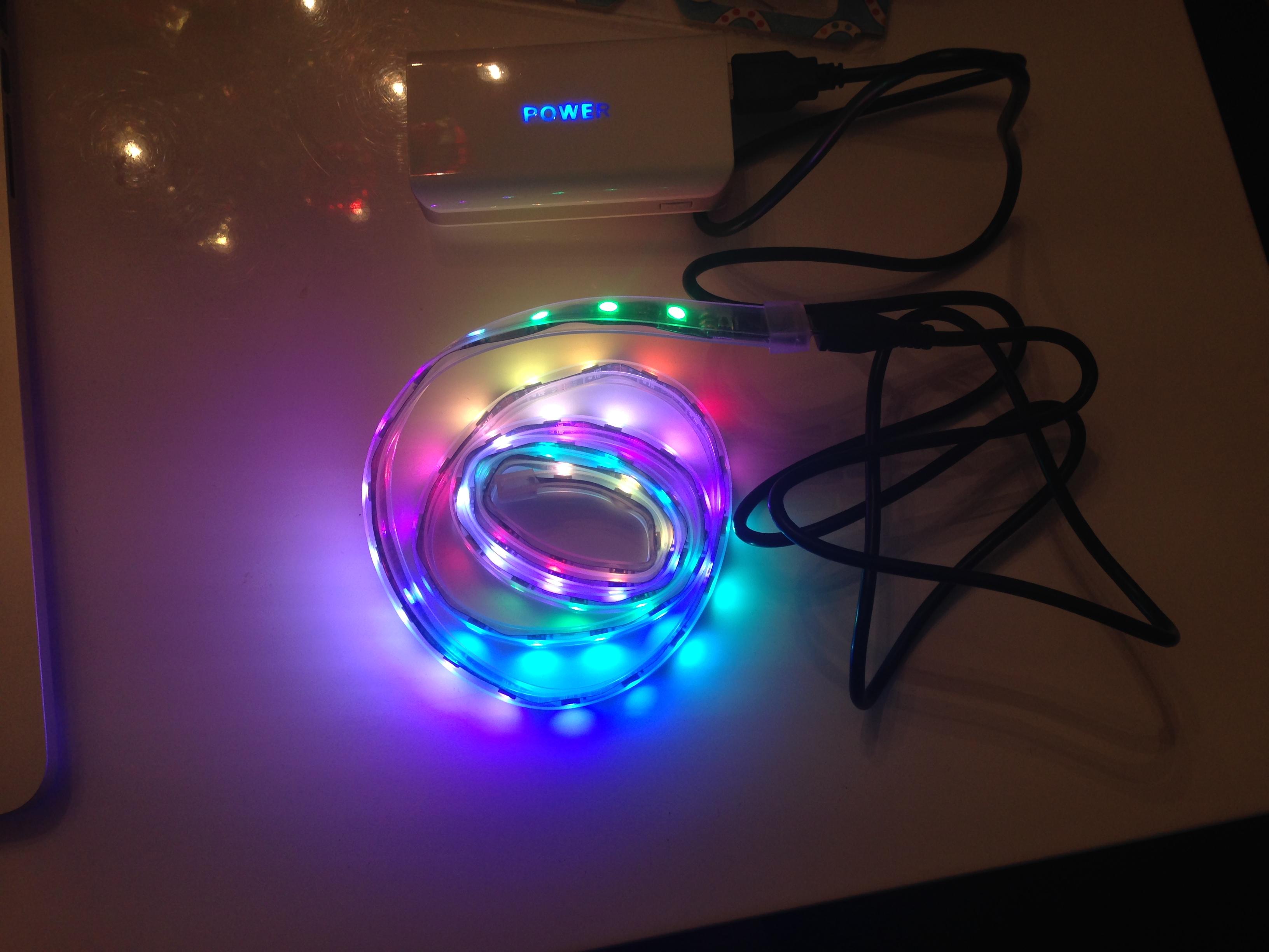 BlinkyTape first run