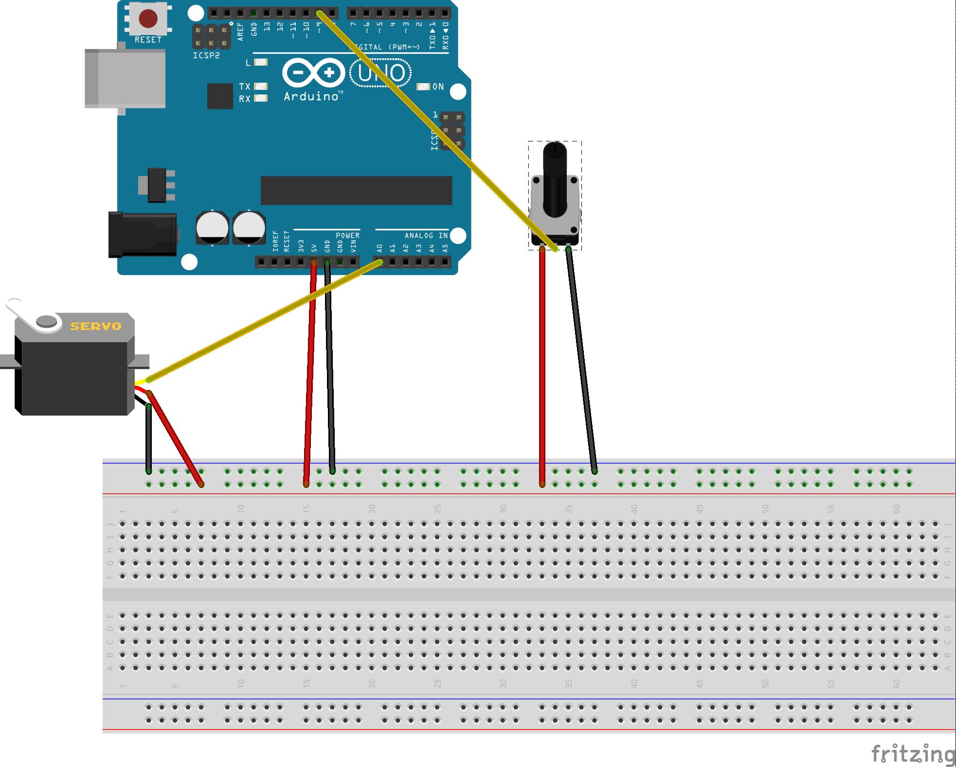 arduino servo projects