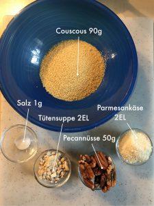 Couscous Zutaten