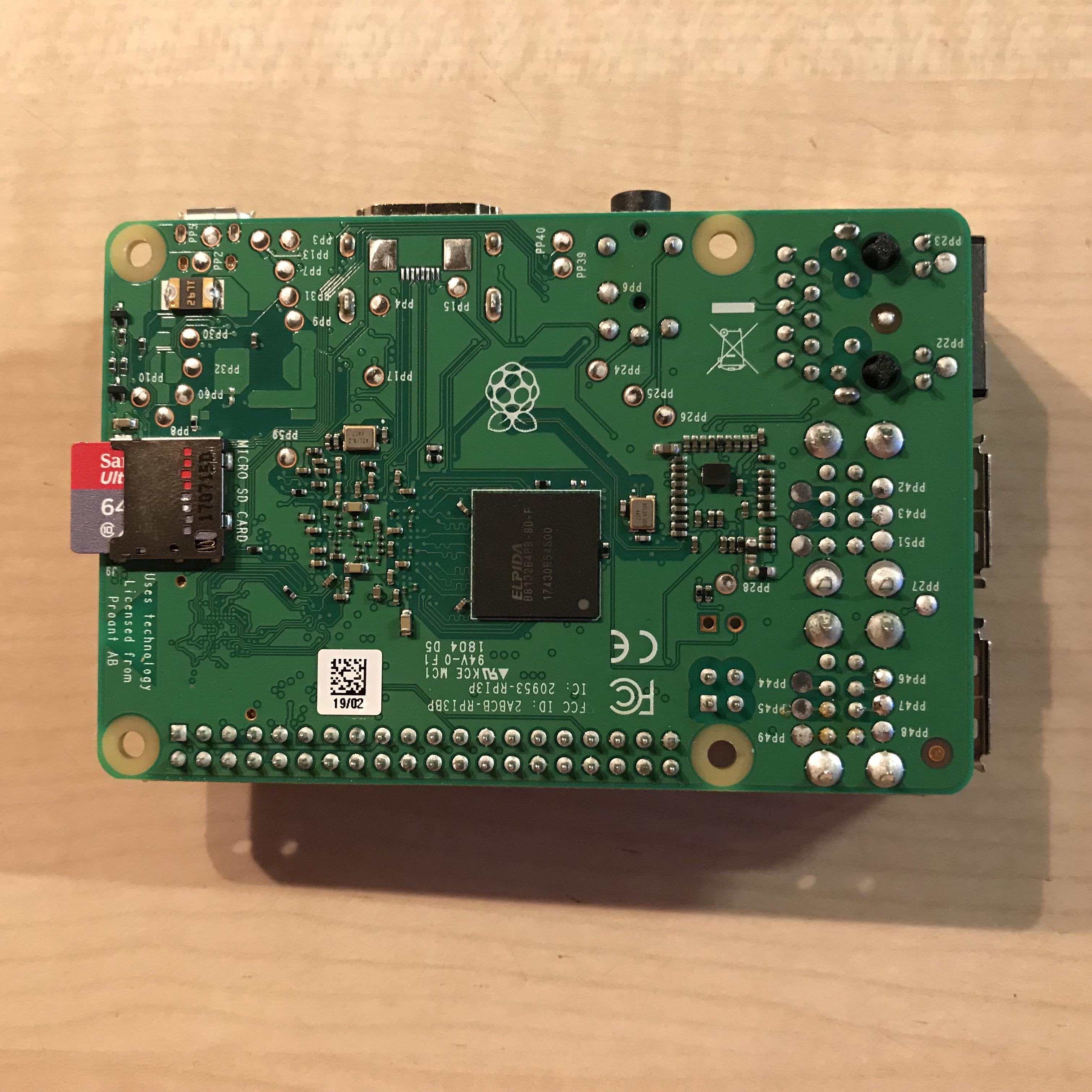 Raspberry Pi 3B+ AccessPoint SD-Karte