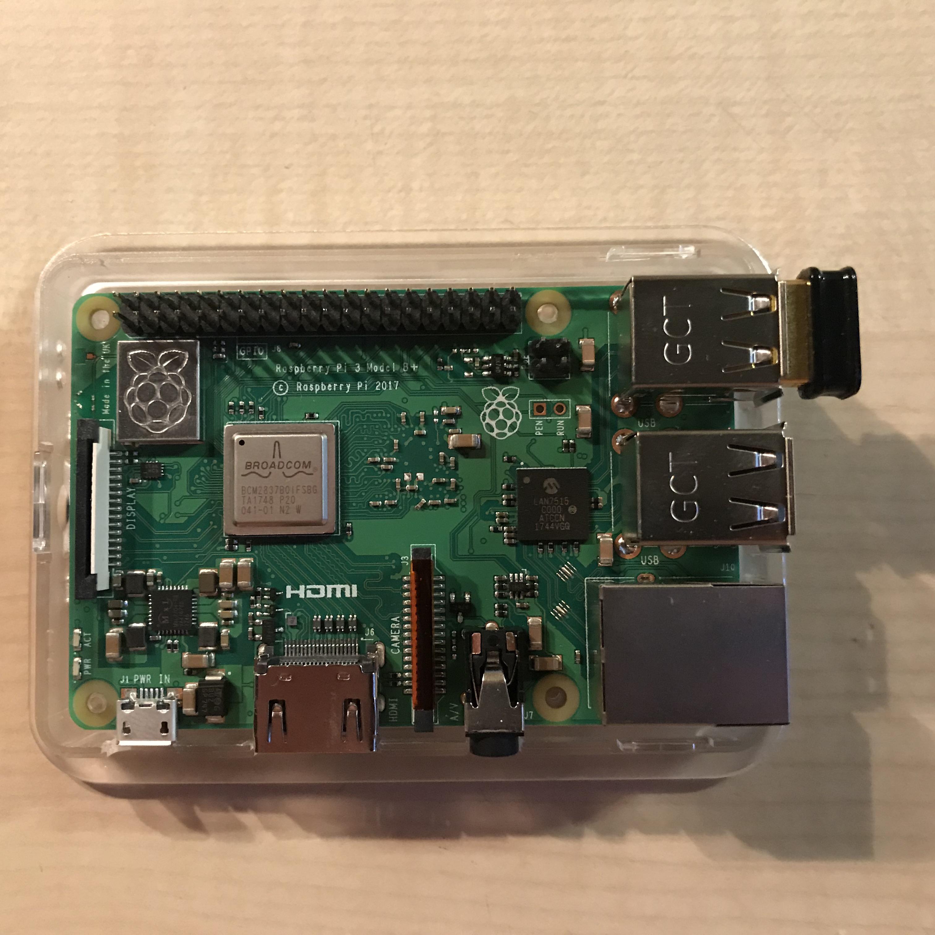 Raspberry Pi 3B+ AccessPoint fast komplett